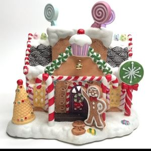 PartyLite Exclusive Gingerbread House Village # 1